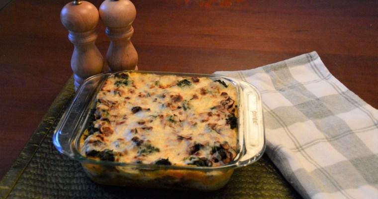 Harvest Vegetable Lasagna