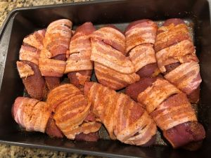 Bacon Wrapped Pheasant - Bacon Wrapped and Spice Rubbed