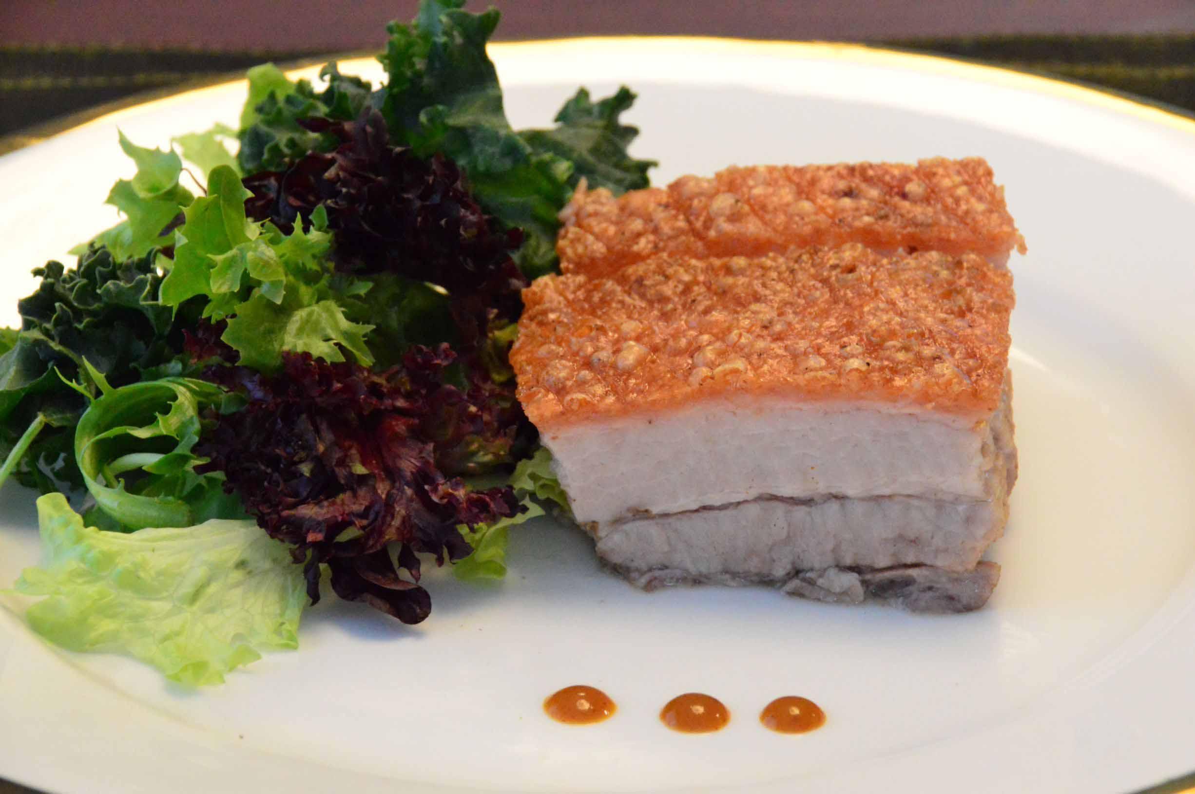 Crispy Chinese BBQ Pork Belly (Siu Yuk)