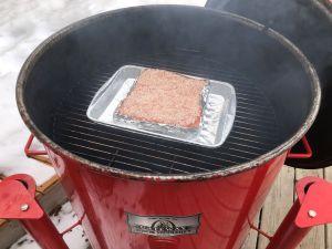 Siu Yuk Preparation - low slow cook of salt encrusted pork belly