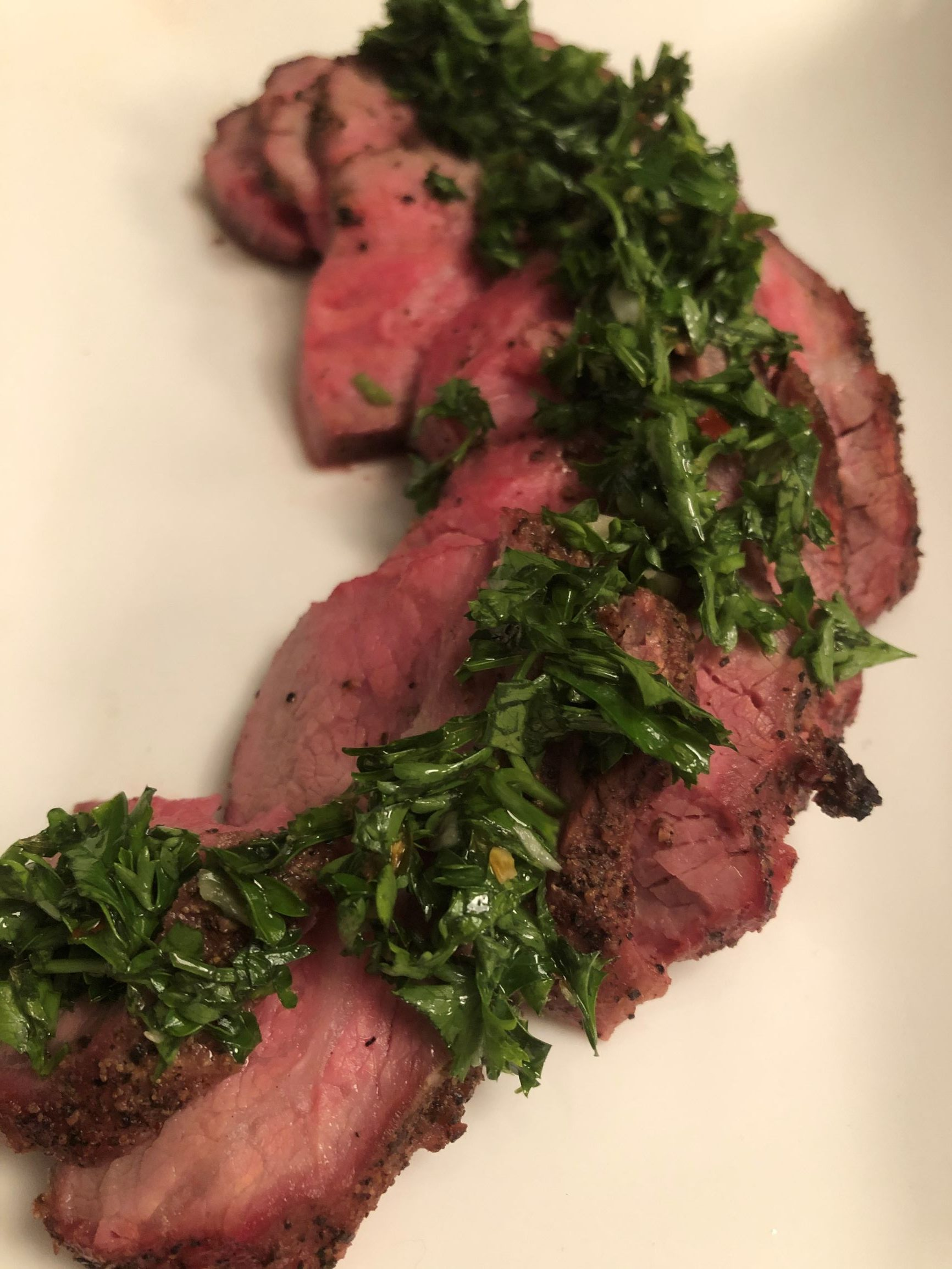 Smoked Tri-Tip Steak