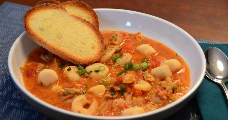 Zarzuela Seafood Stew