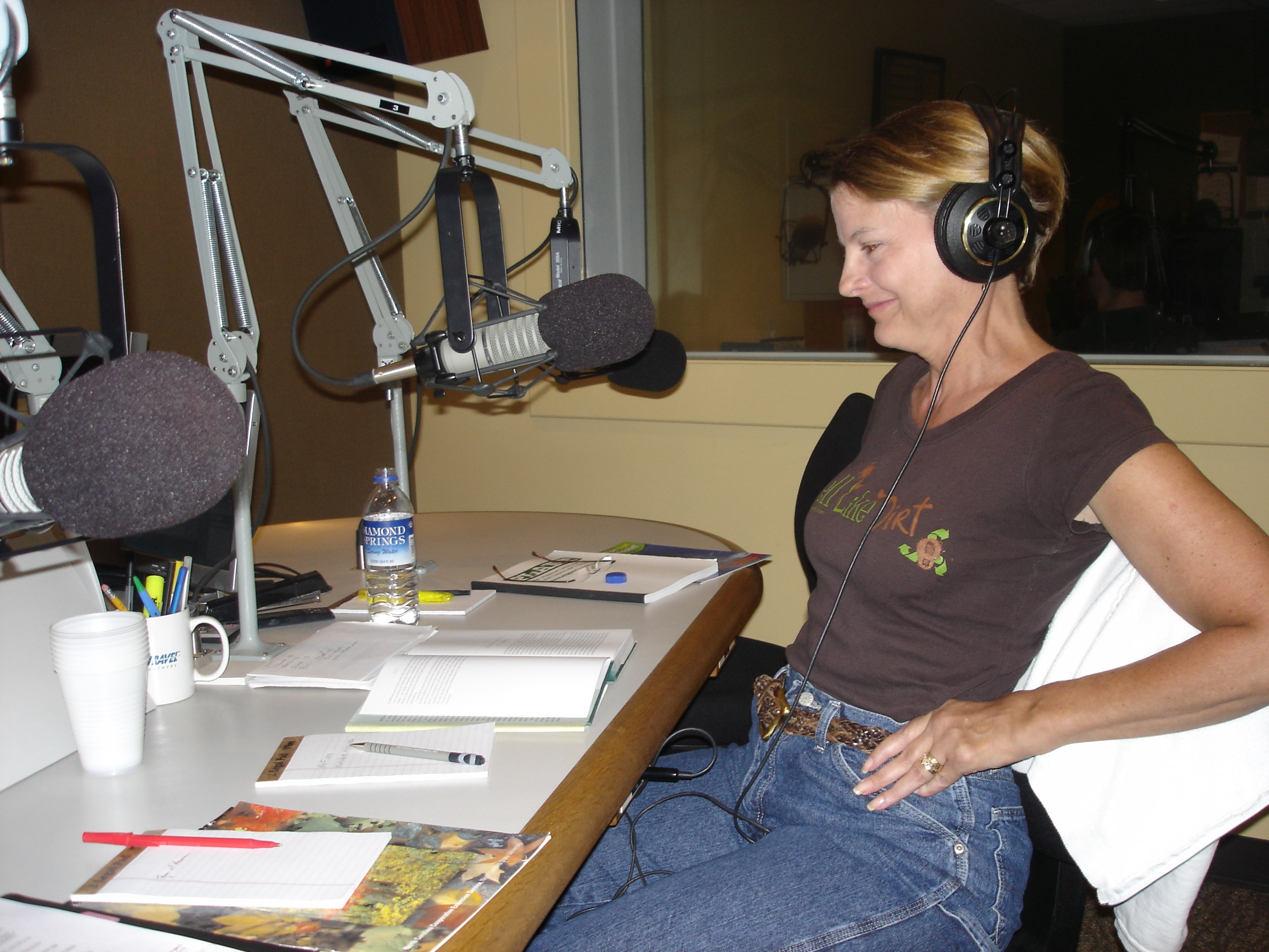 WFAE 90.7 FM Charlotte Talks with Mike Collins