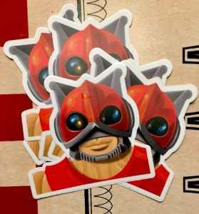 Zodac Sticker