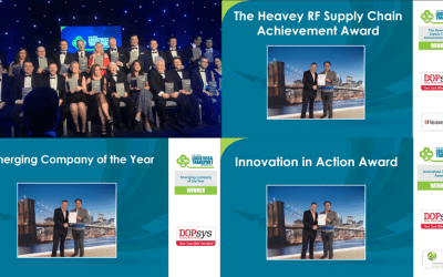 DOPsys wins 3 awards at the Irish Logistics & Transport Awards