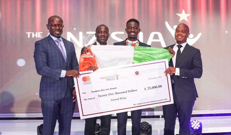 Anzisha Prize 2018: Partake in $100,000 Monetary Reward