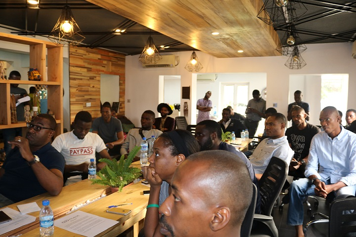 Accounteer and other startups pitching at MEST Lagos
