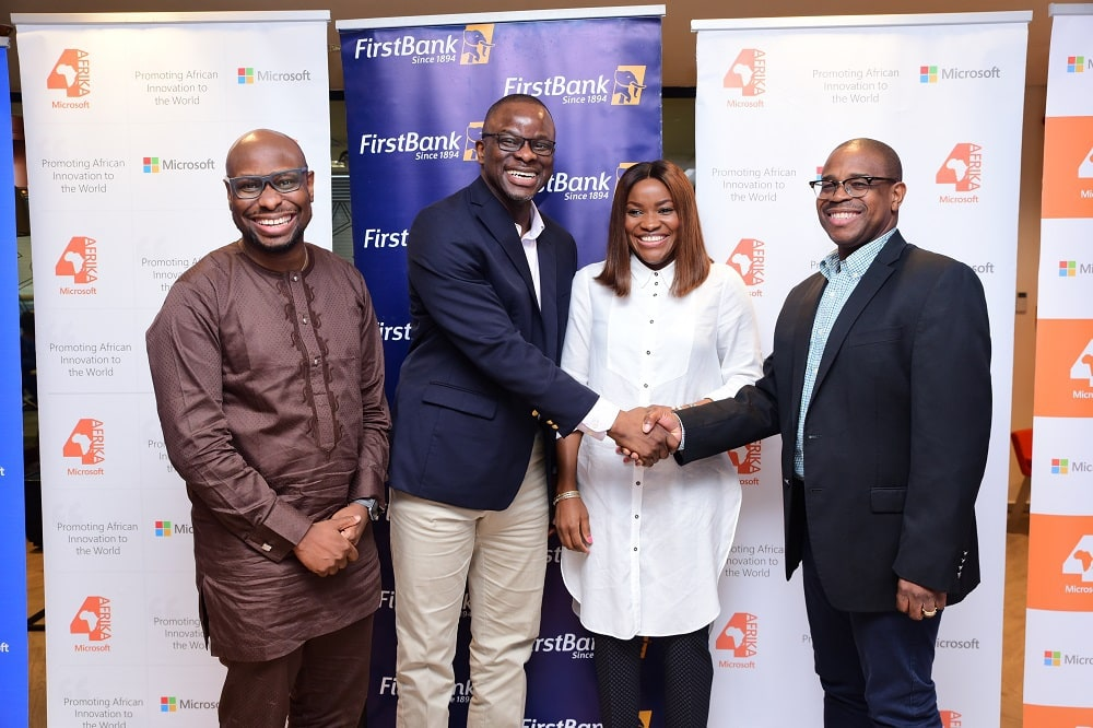First Bank and Microsoft Sign MoU to Support Nigerian SMEs