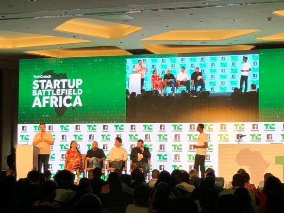 Techcrunch startup battlefield Africa pic