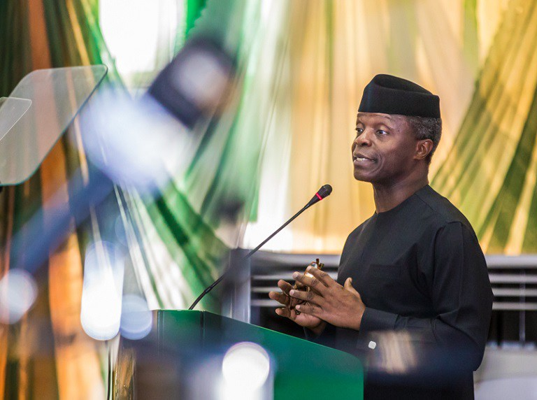 VP Osinbajo: Nigerian MSMEs Will Soon Enjoy Up to ‎₦10m Collateral- Free Loans