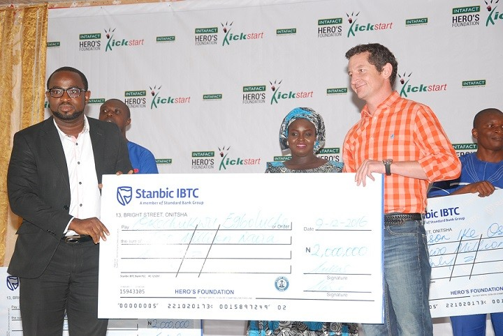 Get Up to ₦3m Business Grant from IB PLC Hero's Foundation Kickstart