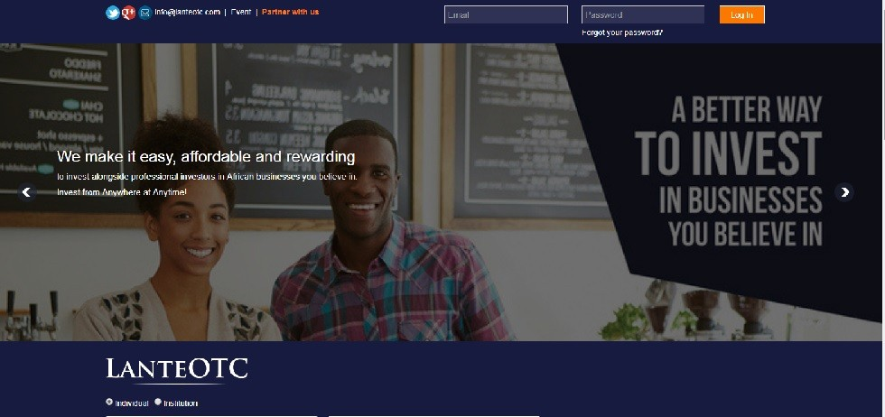 LanteOTC website screenshot - Smepeaks