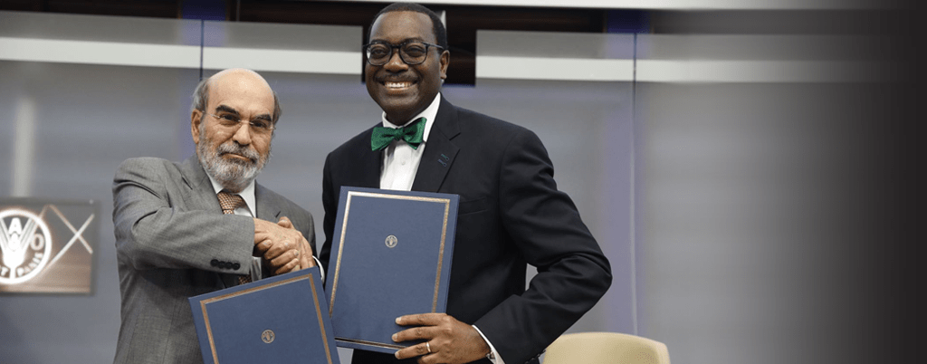 ADB, FAO  Pledge to Raise $100M to Boost Africa's Agricultural Sector