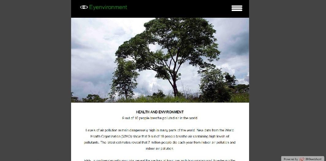 EHE website screenshot - Smepeaks
