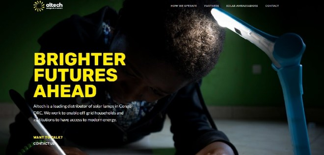 Energy website screenshot - Smepeaks