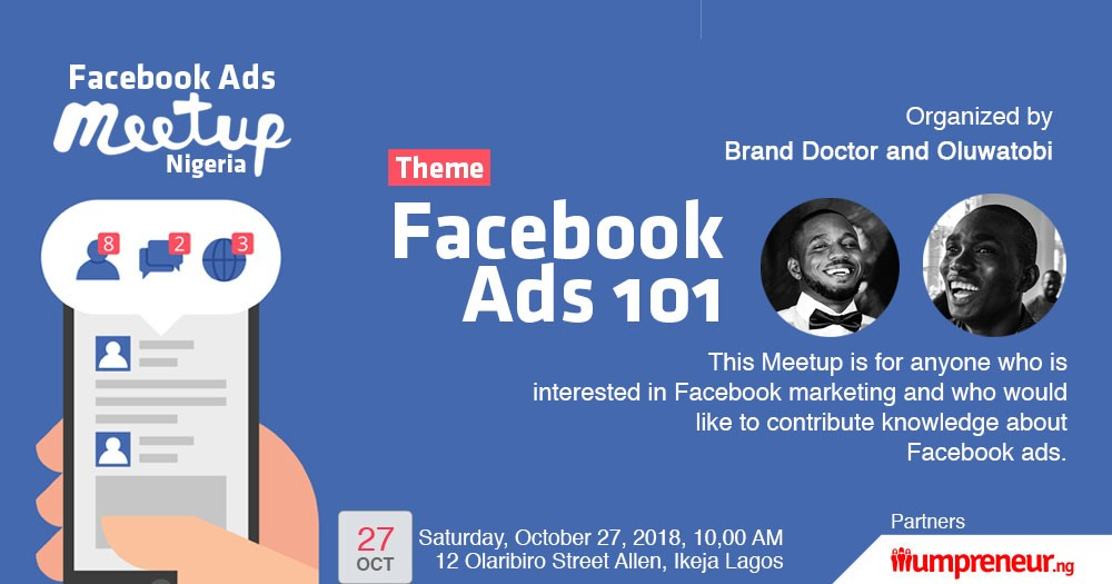 Attend Facebook Ads Meetup to Learn Facebook Advertising Hacks from Scratch