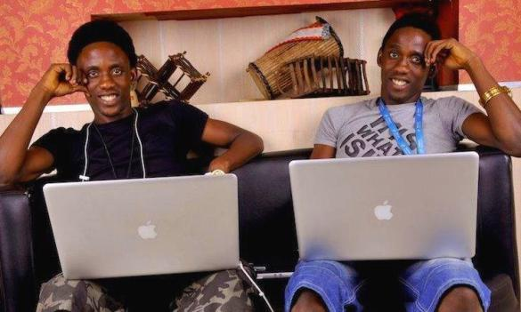 Chidi and Chika Nwaogu picture, cofounders, Publiseer