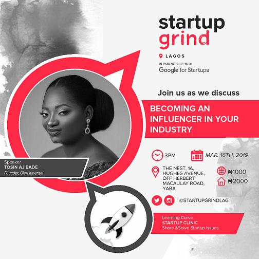 Startup Grind Tosin Ajibade
