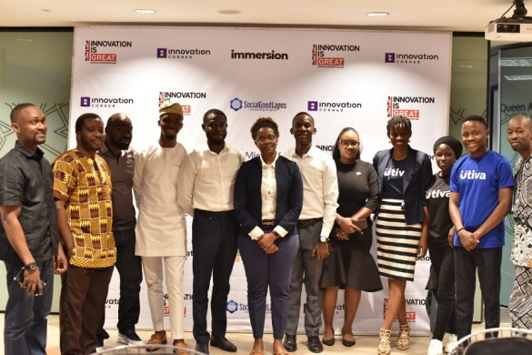 Lagos Immersion programme 2019 winners in picture