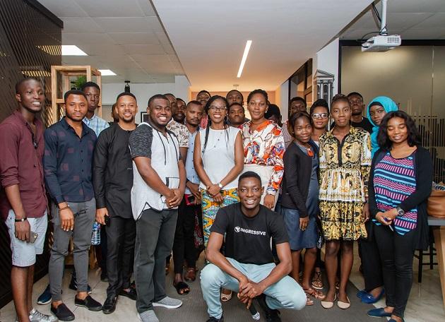 Built to Last Africa 2019 participants shot