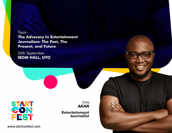 Joey Akan headshot as one of the StartConFest 2019 Speakers