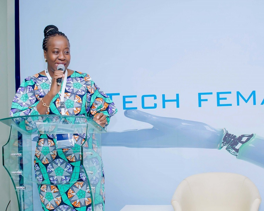 Funke Opeke, CEO MainOne at TLcom Africa Tech Female Founder Summit