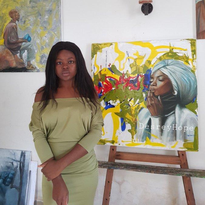 Desrey Hope - Top Nigerian Female Painter