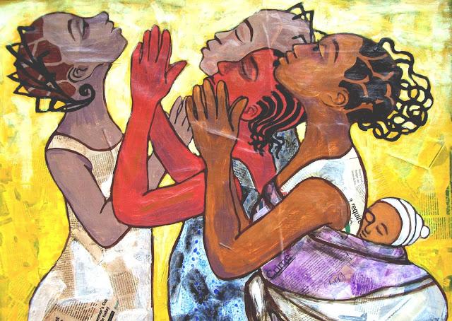 Juliet Ezenwa - Nigerian Female Painters