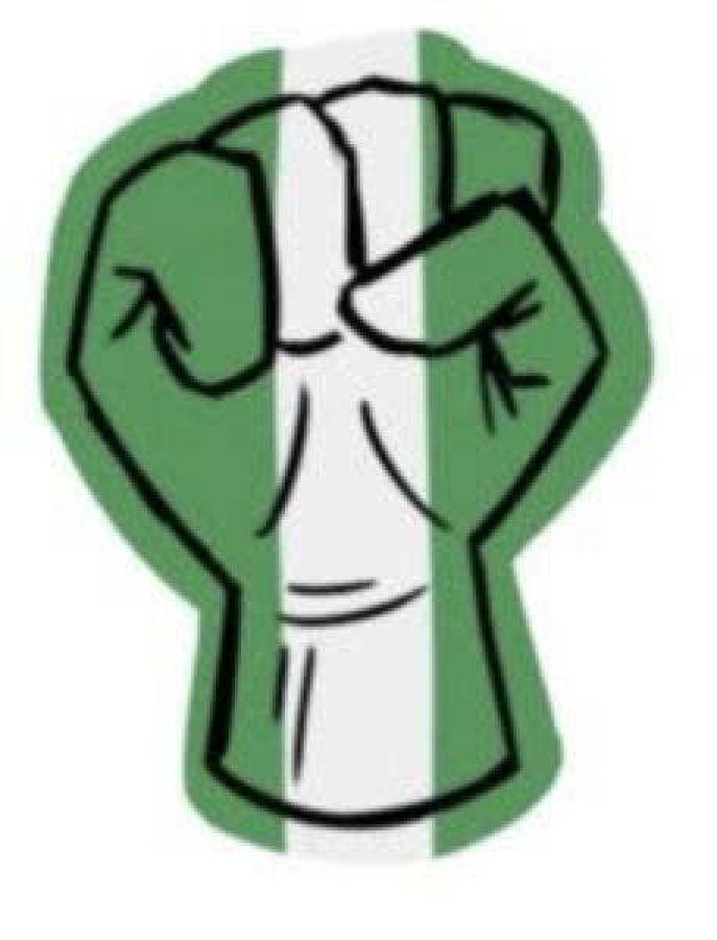 #EndSARS protest Twitter emoji