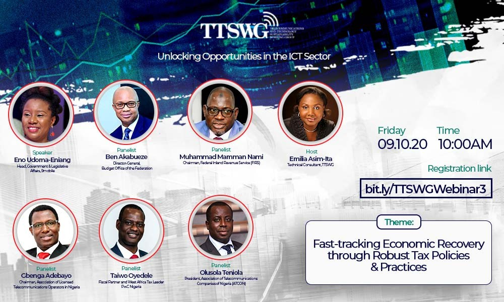 Join the national dialogue on taxation and development of the non-oil sectors in Nigeria