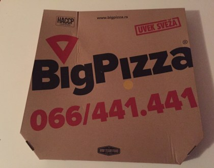 Big Pizza u Novom Sadu