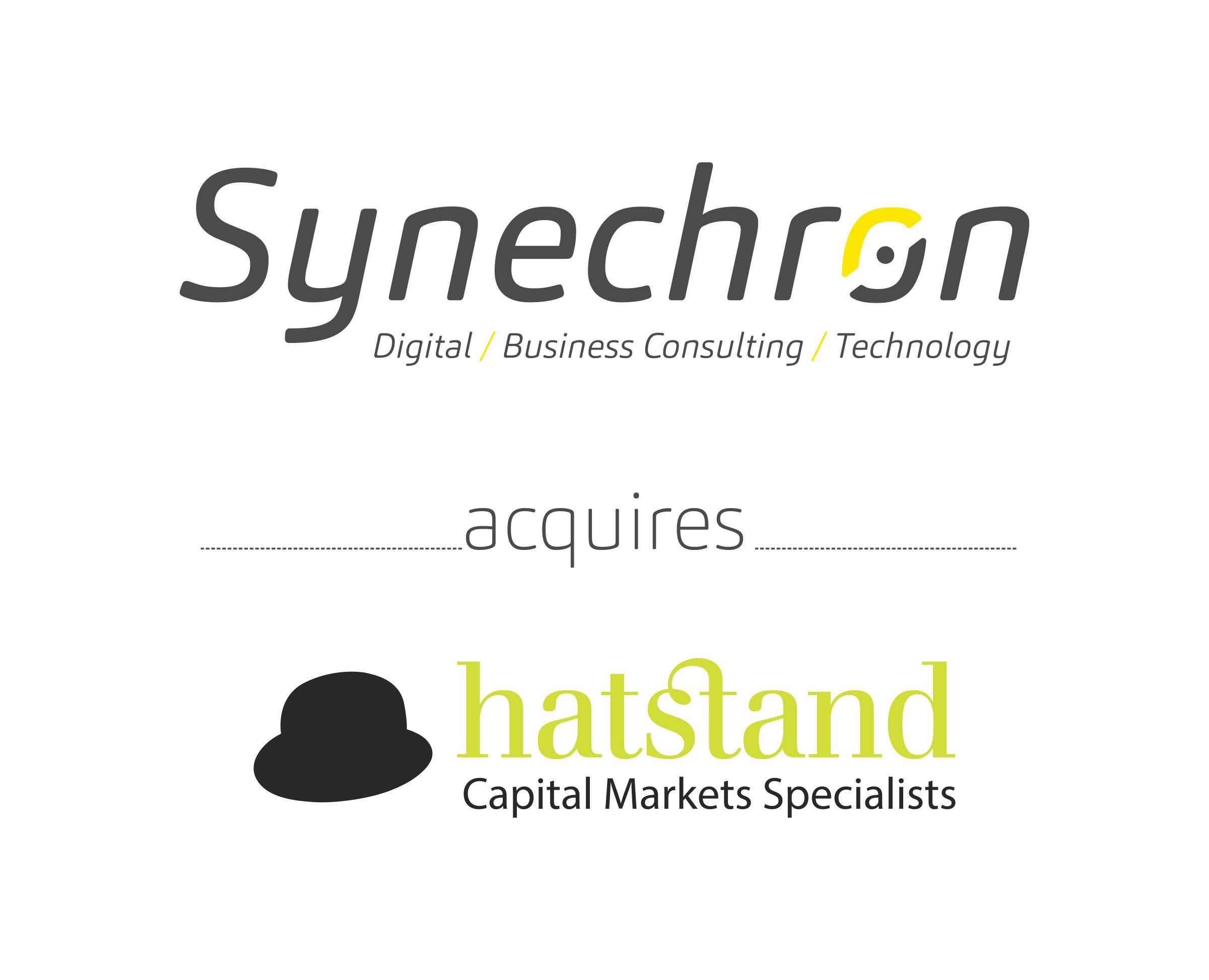 Synechron Acquires Hatstand