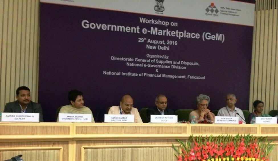 e-Marketplace for Public Procurement in Partnership with MAIT & DGS&D