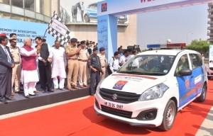 Maruti Suzuki Gave 35 Ertiga And Eeco Vehicles To Haryana Police