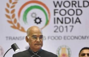 "President Ram Nath Kovind Calls World Food India ""Kumbh Mela of Indian Food"""