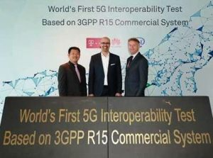 Deutsche Telekom, Intel and Huawei Achieve World's First 5G NR Interoperability