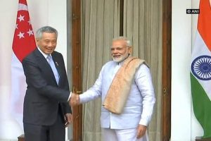 India-Singapore have Great Potential to Transform South Asia: Modi