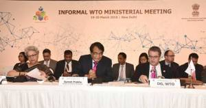 52 Countries Come Together Informal World Trade Organisation Ministerial Meeting