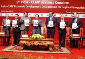 5th India CLMV Business Conclave at Phnom Penh, Cambodia Concluded on Positive Note