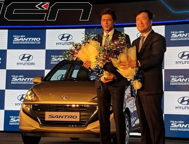 Hyundai Launched All New Santro in India