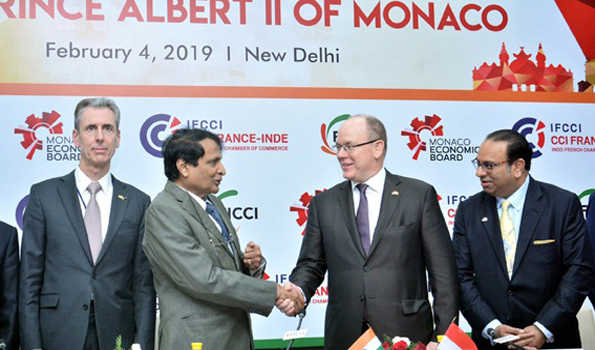 Commerce Minister Emphasize on The Potential of India-Monaco Business