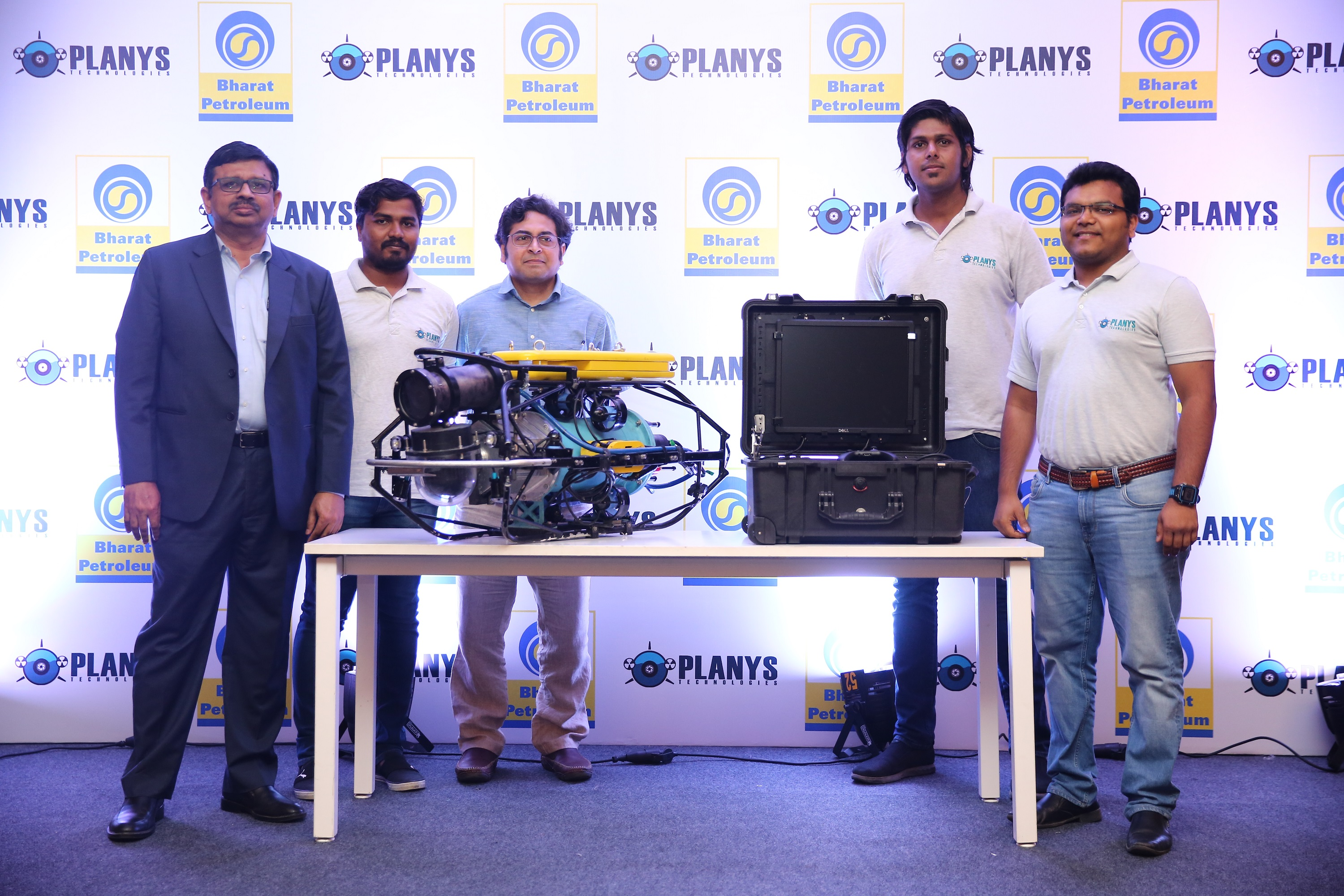 Planys Launches ROV Mikros Indigenously Designed for Downstream Oil & Gas and Process Industries