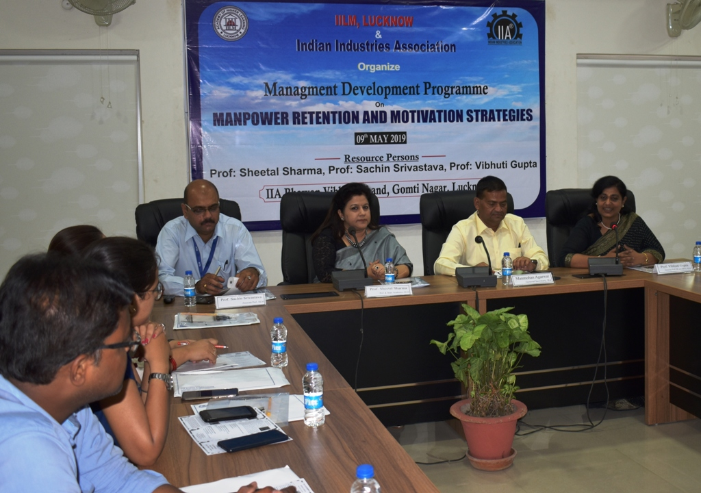 IILM and IIA Organized Programme on Manpower Retention and Motivation