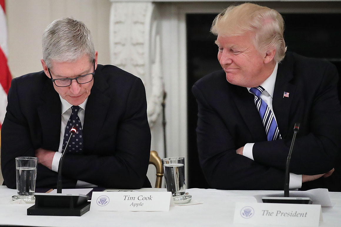 Donald Trump Remains Strict on Apple's Component Imports From China