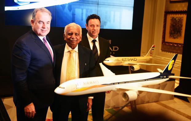 Etihad Might Not Reinvest in Jet Airways