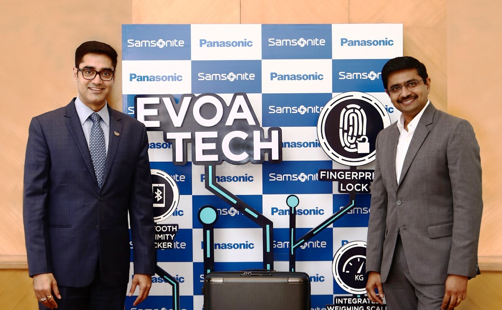 Samsonite Forms Strategic Alliance with Panasonic to Launch IoT Enabled Smart Luggage
