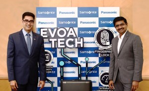 Manish Sharma of Panasonic India, Jai Krishnan of Samsonite South Asia