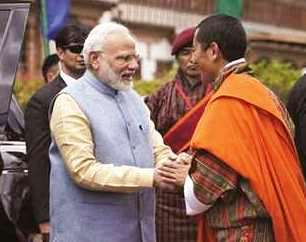 Bhutan and India Must Work Together in Space Technologies and Digital Payments: PM Modi