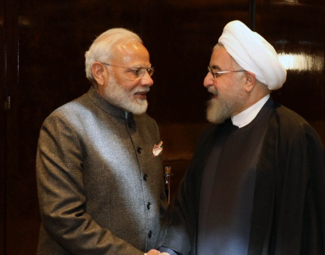 PM Modi Met Iranian Pres Rouhani, Extends Support for Diplomacy and Dialogue for Bringing Peace in Middle East