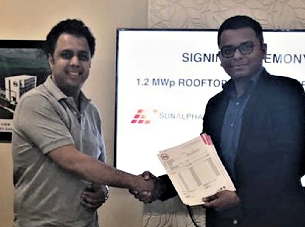 Dynamic Cables and SunAlpha Team Up to Commission 1200 kW Solar Project in Rajasthan